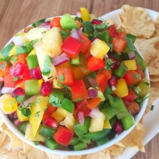 Healthy Festive Salsa