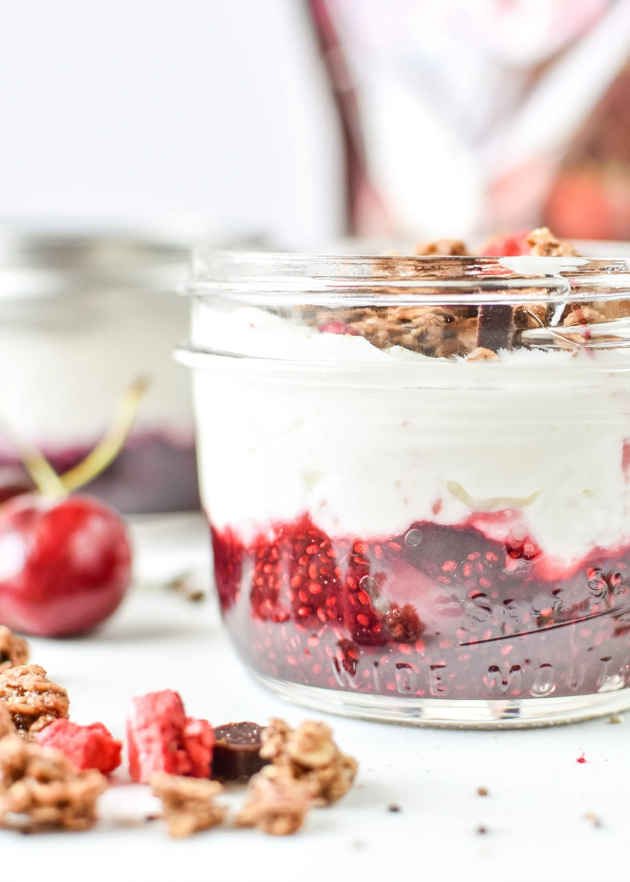 Black Forest Yogurt Cups