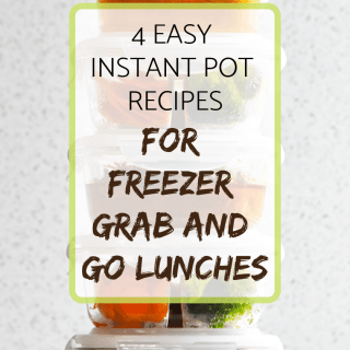 4 easy instant pot recipes for grab and go lunches