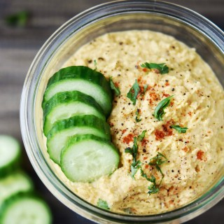 Thai'd Up Hummus {Prep Ahead}
