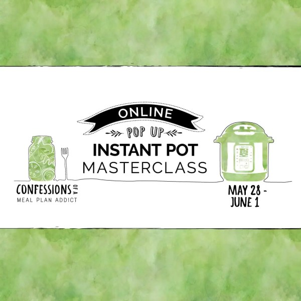 Online Instant Pot Pop Up Masterclass