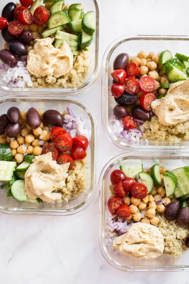 No-microwave-lunch-mediterranean-vegan-meal-prep-bowls