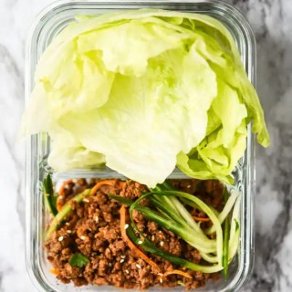 Gochujang Beef Lettuce Cups