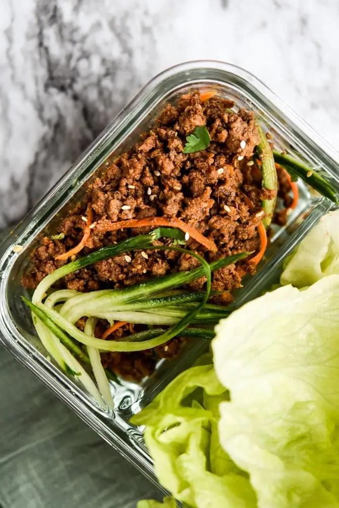 Gochujang Beef Lettuce Cups5