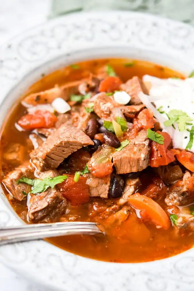 Instant Pot Left Over Brisket Soup-2