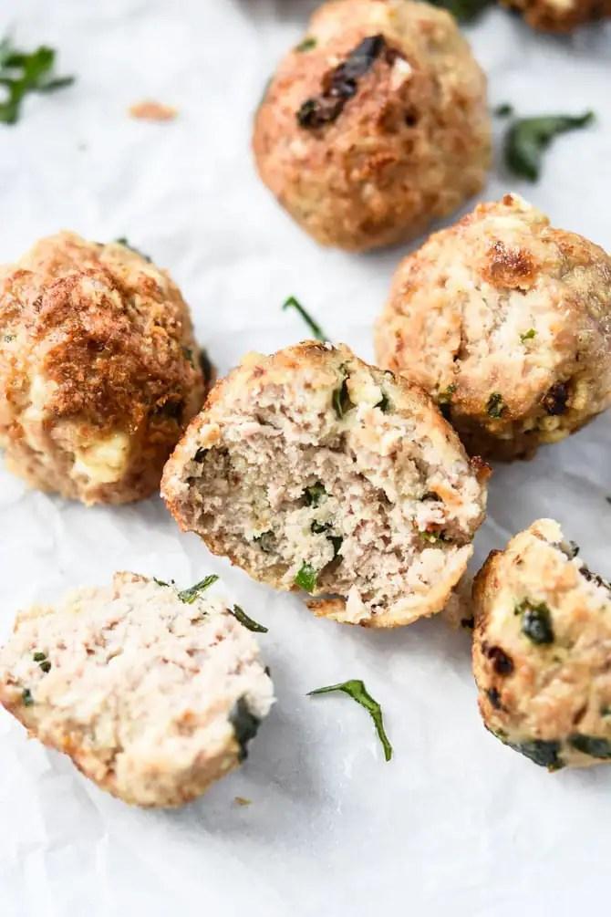 Mediterranean Turkey Meatballs-2
