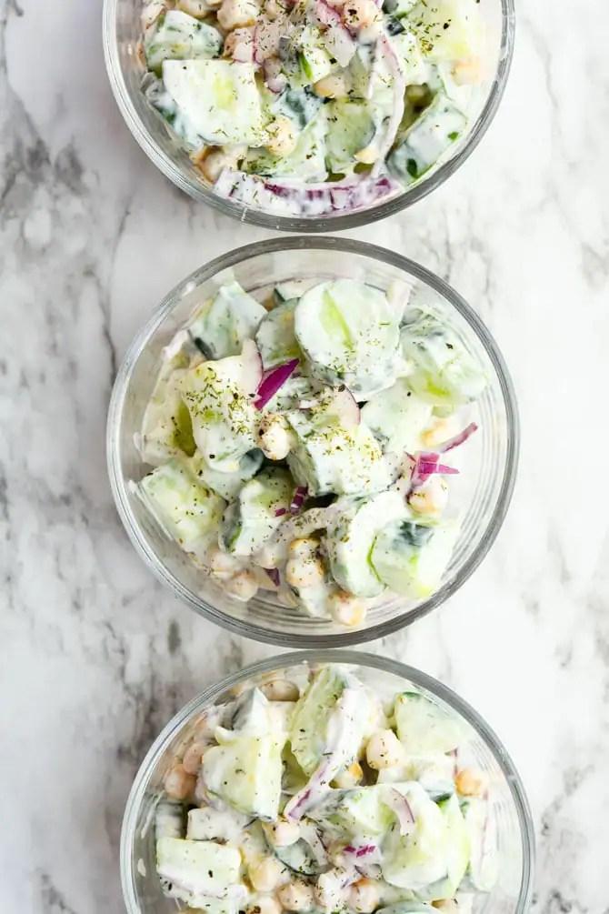 Cucumber Chickpea Salad-4