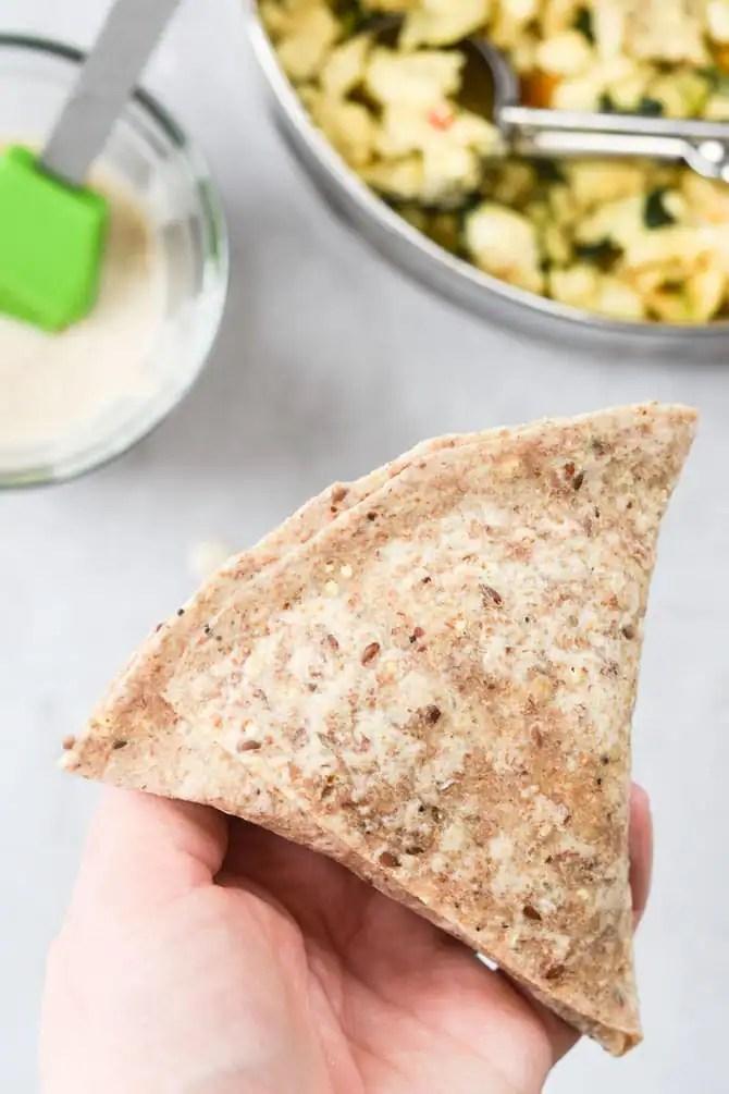 Veggie Loaded Breakfast Pockets-4