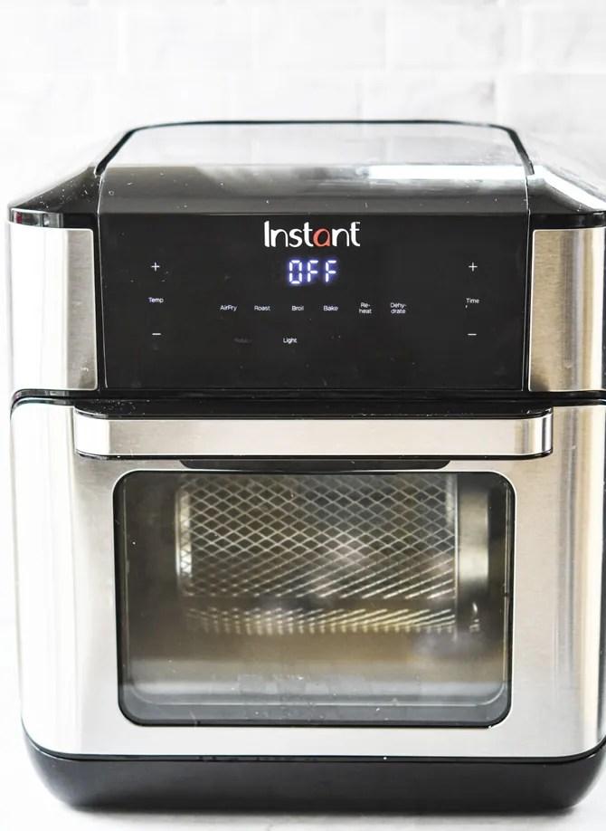 Instant Pot Vortex Review front of machine