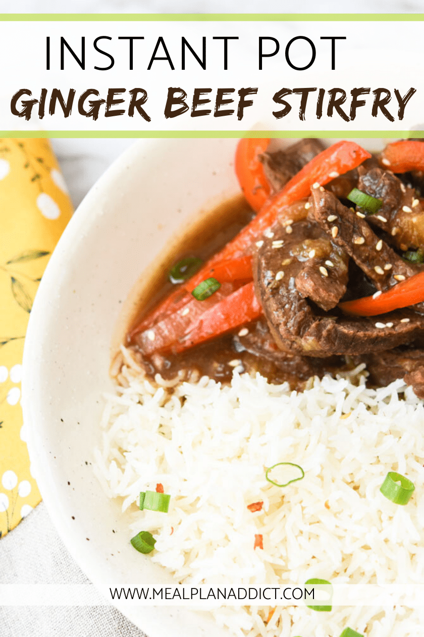 Instant Pot Ginger Beef
