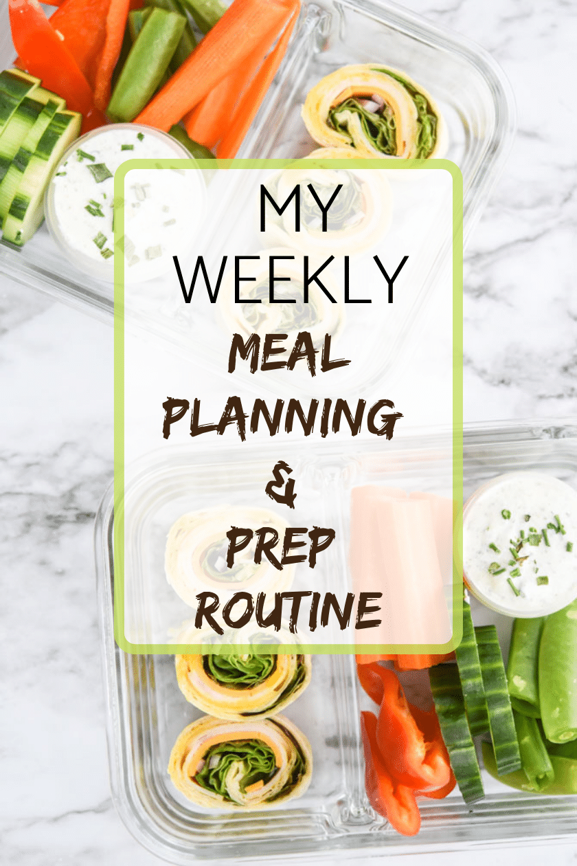My Weekly Meal Planning & Prep Routine