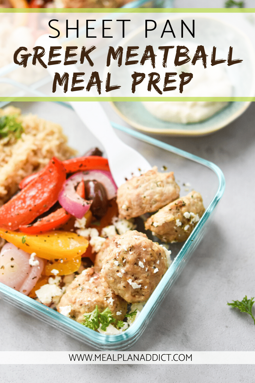 Sheet Pan Greek Meatball Meal Prep (3)