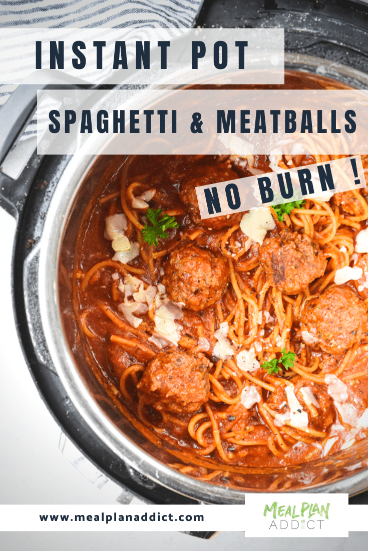 instant pot spaghetti and meatballs (4)