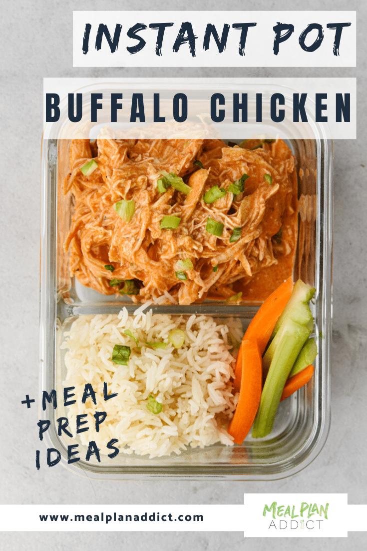 Instant Pot Buffalo Chicken