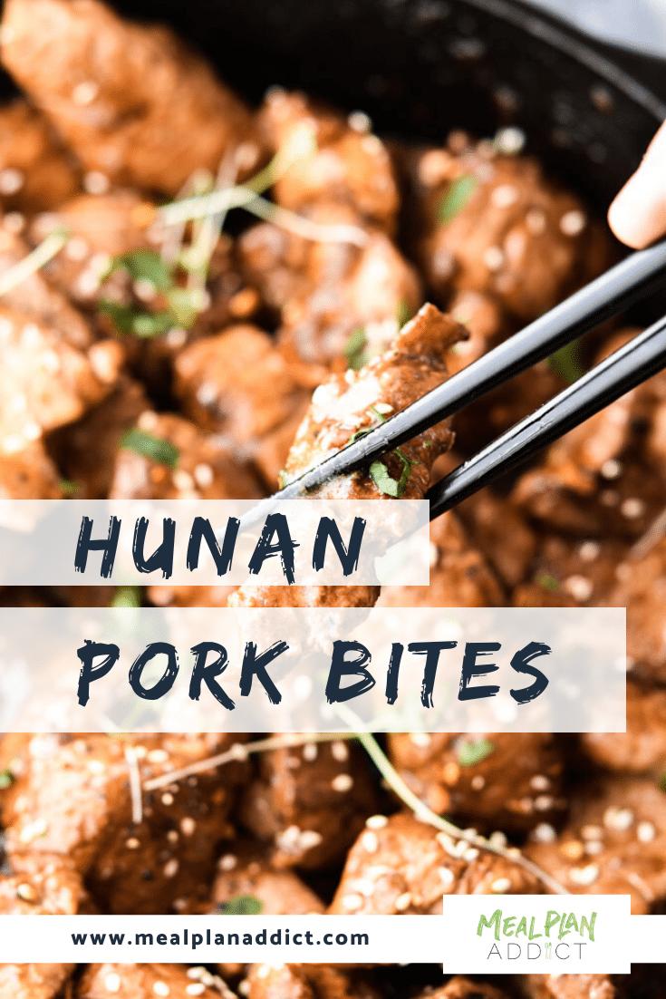 Hunan Pork Bites