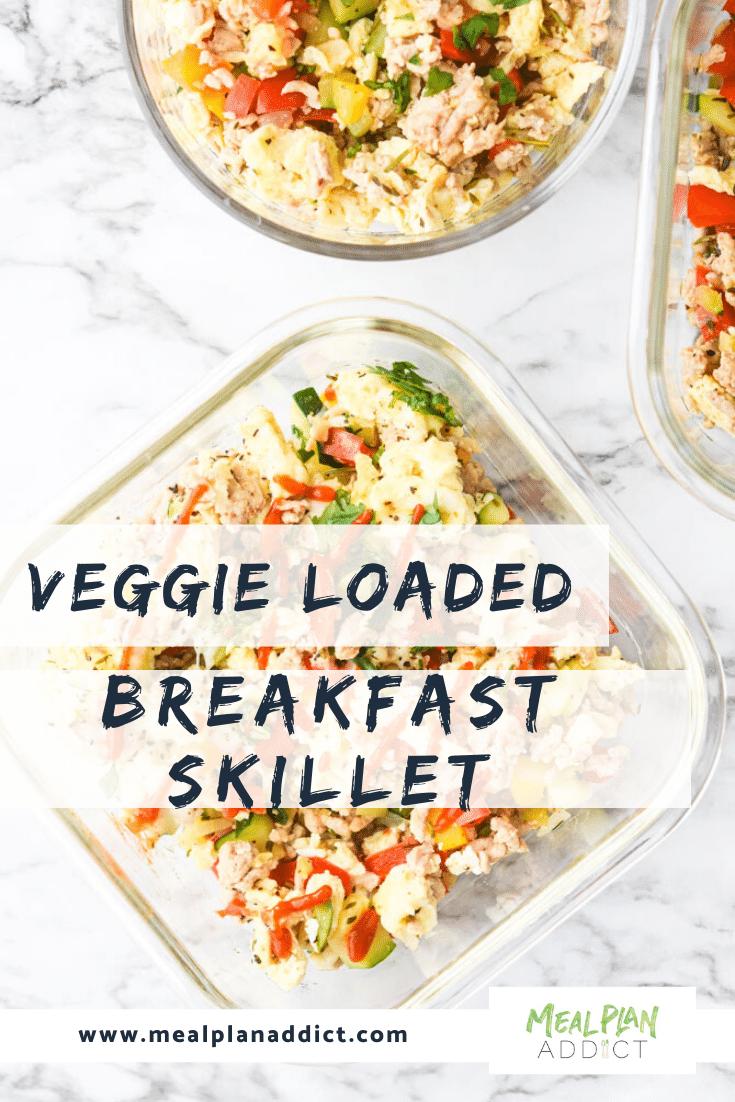 Breakfast Loaded Breakfast Skillet