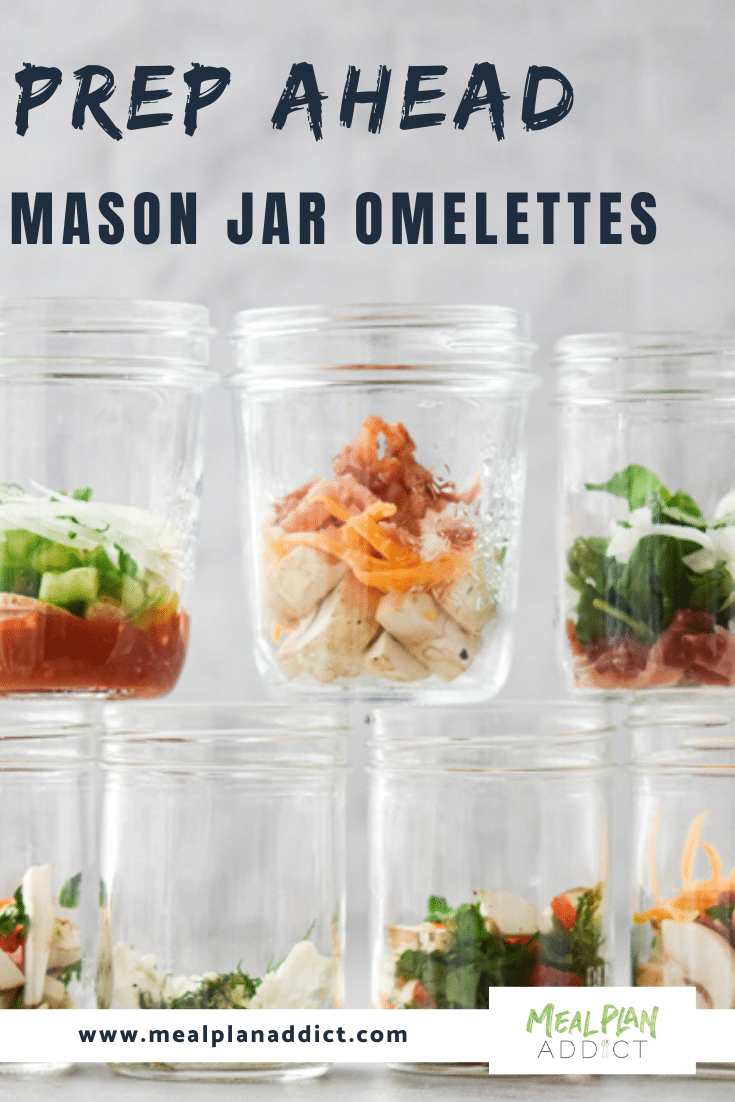 Prep Ahead Mason Jar Omelettes