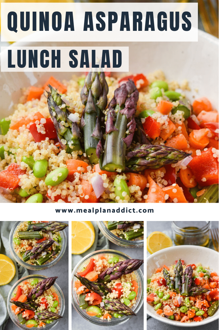 Quinoa Asparagus Lunch Salad