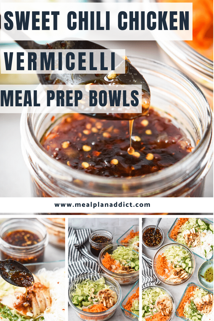 Sweet Chili Chicken Meal Prep Bowls