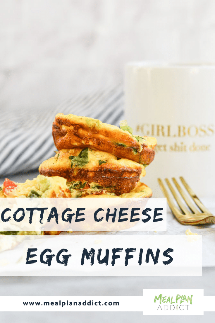 Baked Cottage Cheese Egg Muffins