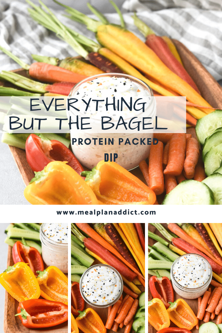Everything But the Bagel Protein Packed Dip