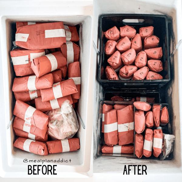 meal plan addict milk crate freezer