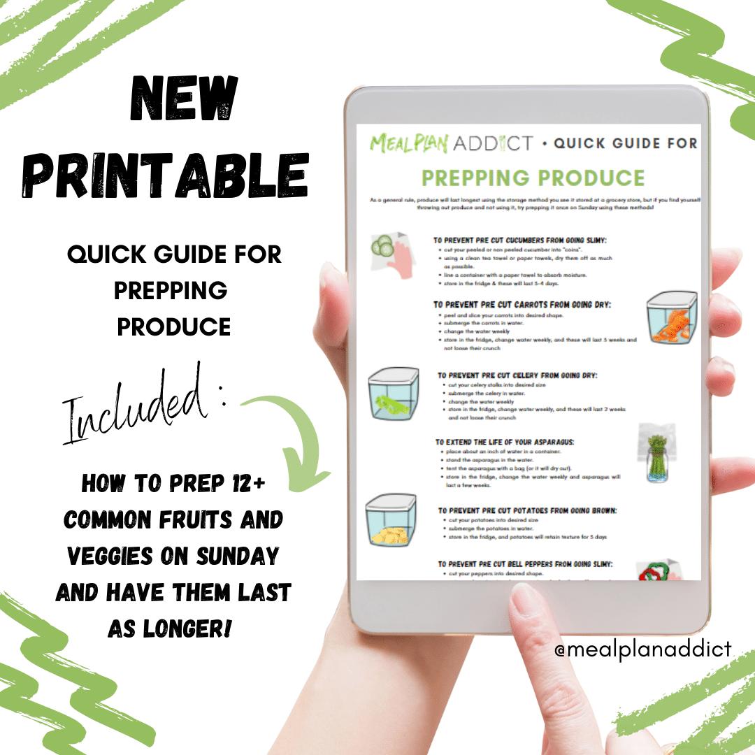 quick guide for veggies IG promo
