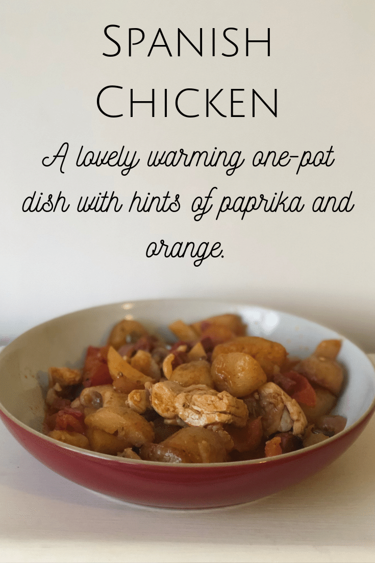 A lovely warming one-pot dish with hints of paprika and orange.