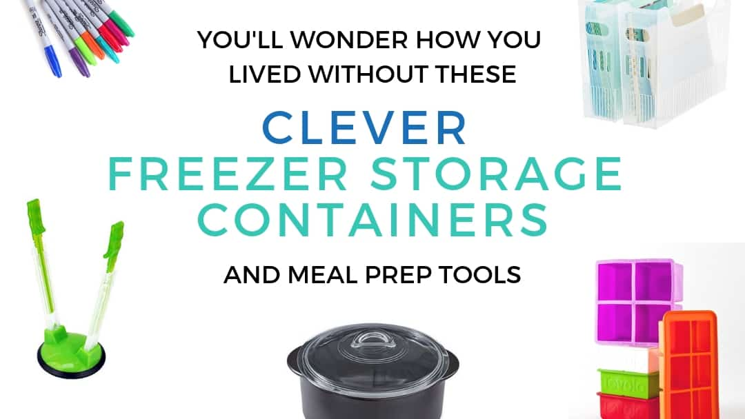 21 Clever Freezer Storage Containers & Meal Prep Tools (updated)