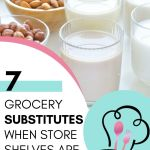At some point, you will find yourself in the store unable to buy something that was on your list! If you find yourself in this situation, I have a few handy substitutes that you'll want to have handy. Here are items to buy when the grocery store is entirely out.