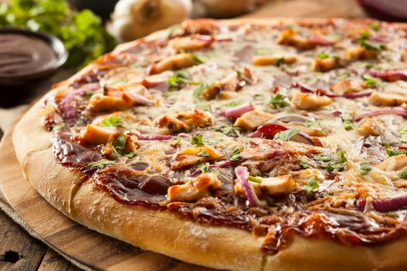 This buffalo chicken pizza is just one of 20+ leftover chicken ideas you can use to fill your weekly meal plan, save you money and reduce waste.
