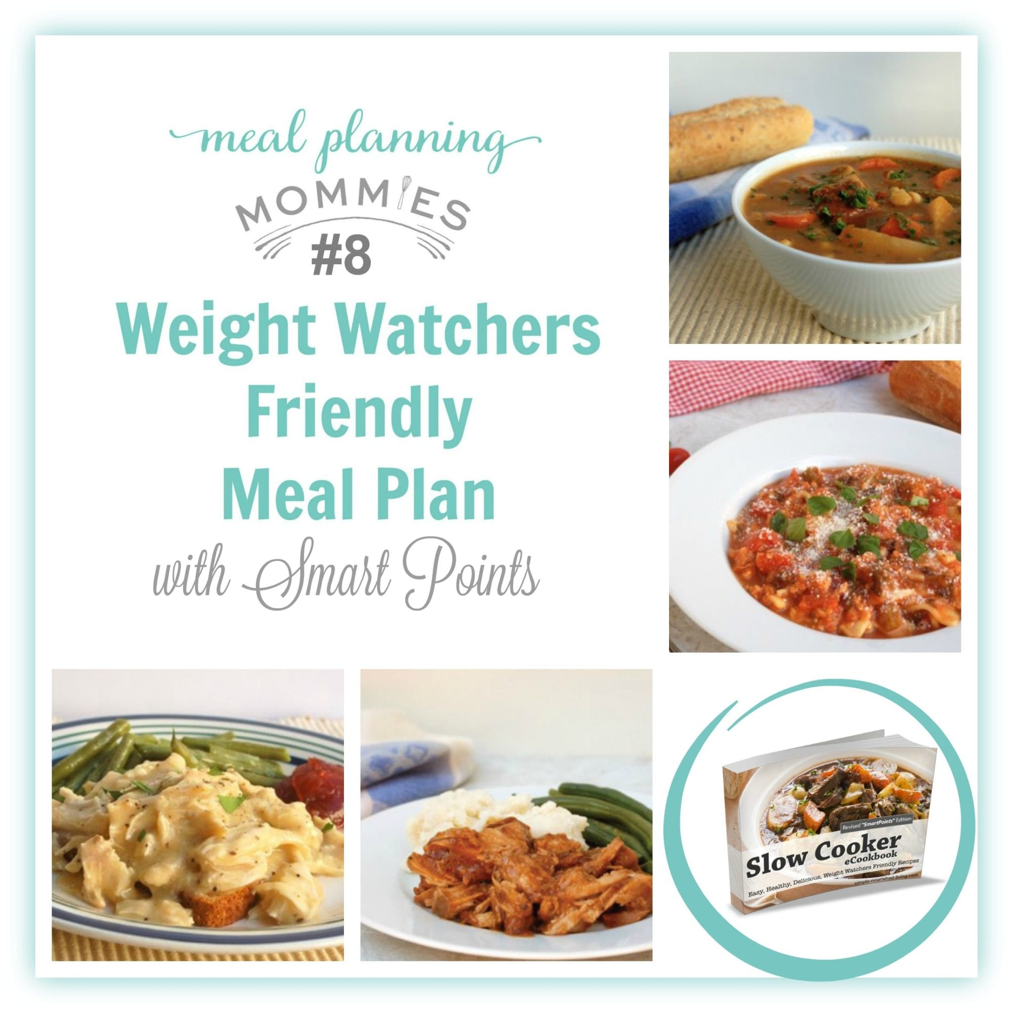 Weight Watcher Friendly Meal Plan 8 With Freestyle Smart
