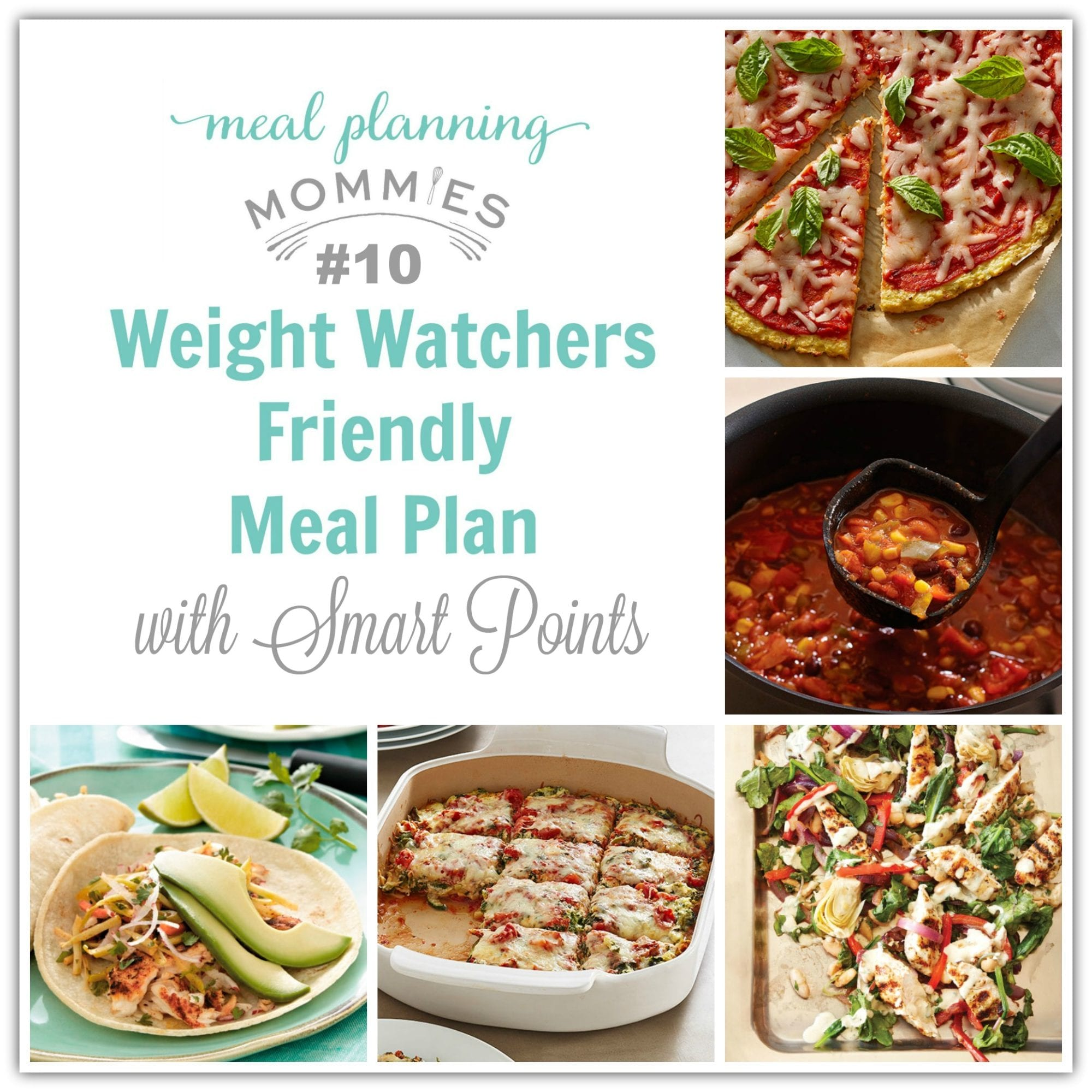 Weight Watcher Meal Plan 10 With Old Smart Points