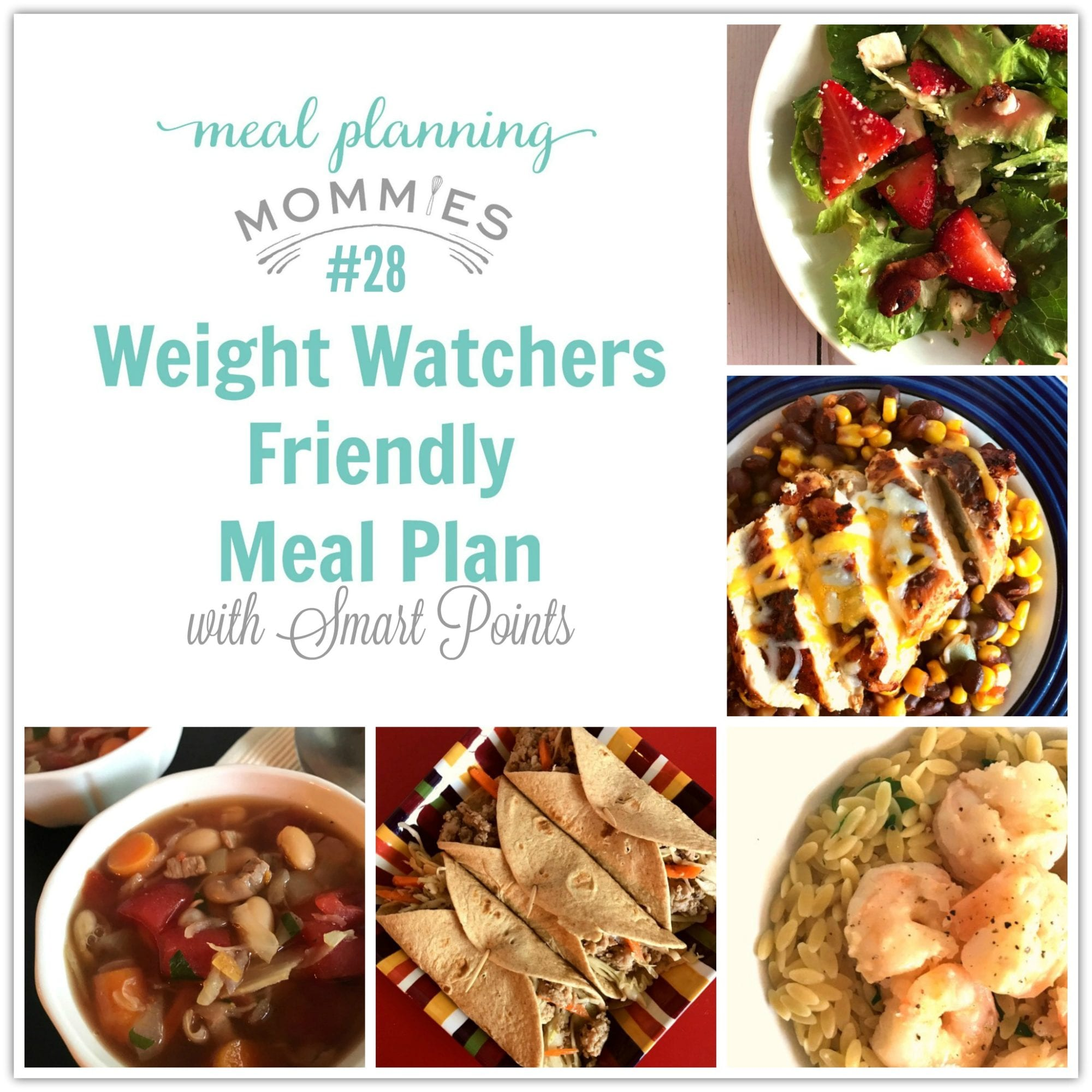 Weight Watchers Friendly Meal Plan 28 With Freestyle