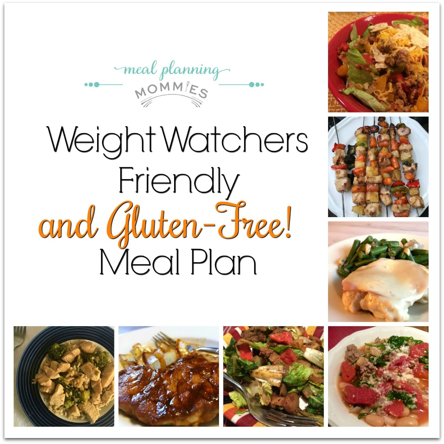 Weight Watchers Friendly And Gluten Free Meal Plan 31