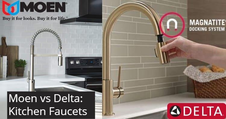 moen vs delta kitchen faucet comparison