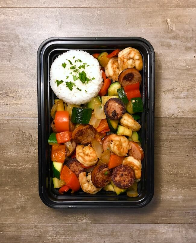 Read more about the article Shrimp and Sausage Skillet