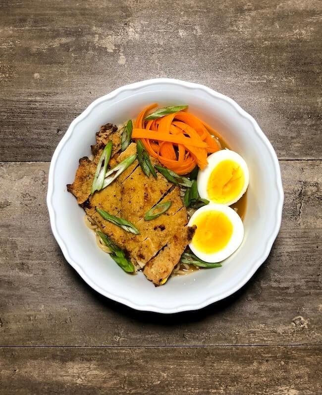 Read more about the article Chicken Katsu Ramen