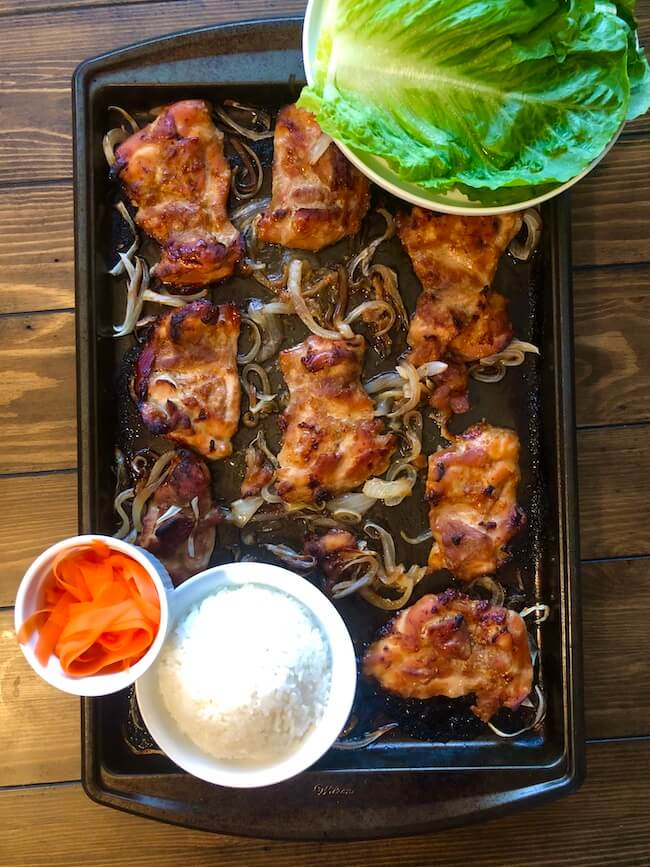 Read more about the article Honey Garlic Chicken Lettuce Wraps