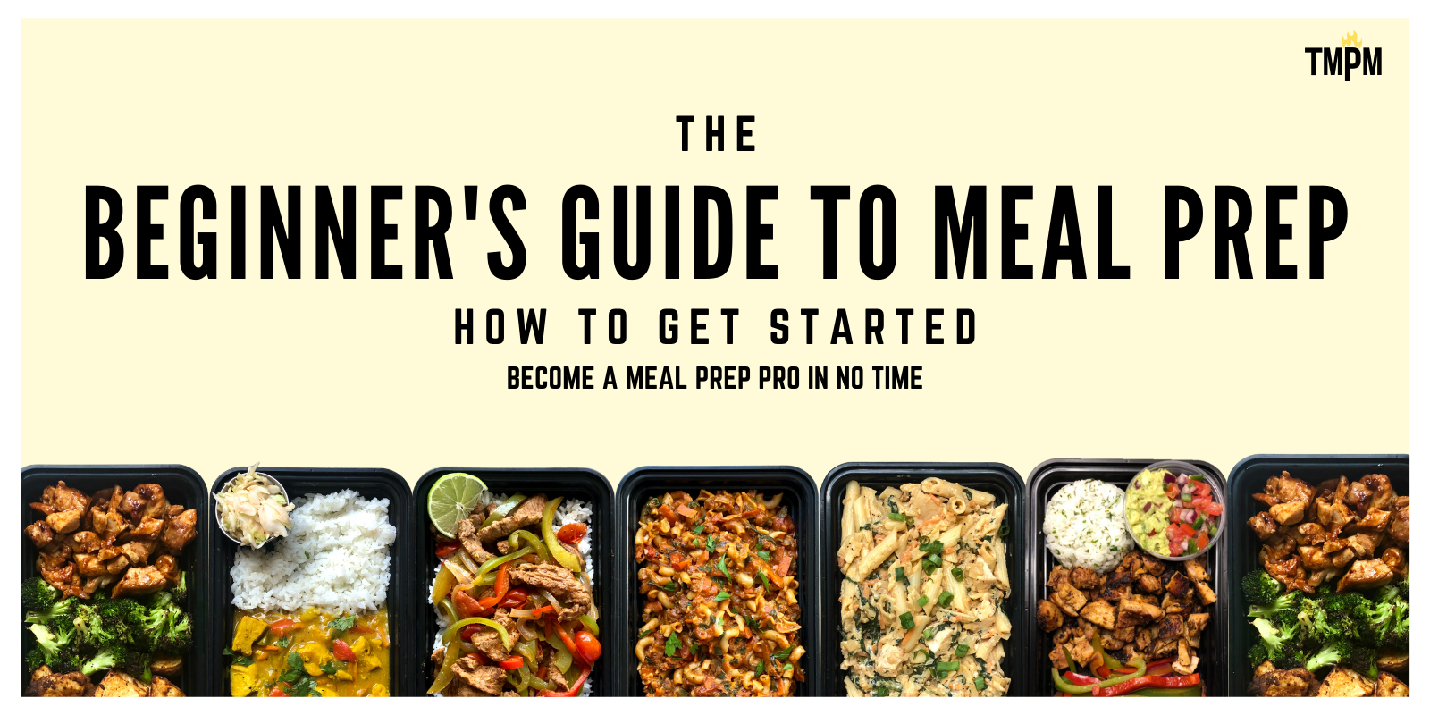 You are currently viewing The Beginner's Guide to Meal Prep