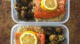 Simple Salmon Meal Prep