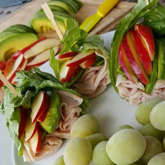 Apple-Avocado-Turkey-Wraps-Clean-Eating