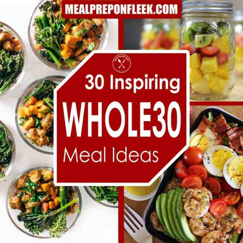 best whole30 meal prep recipes