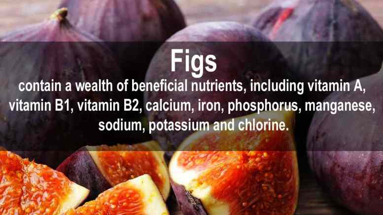 health facts about figs