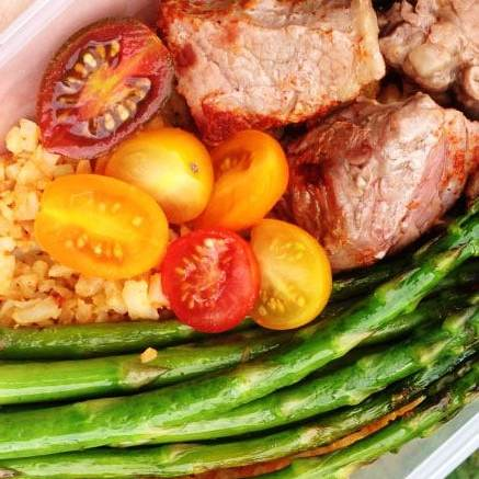 Low Carb Cajun Steak Meal Prep