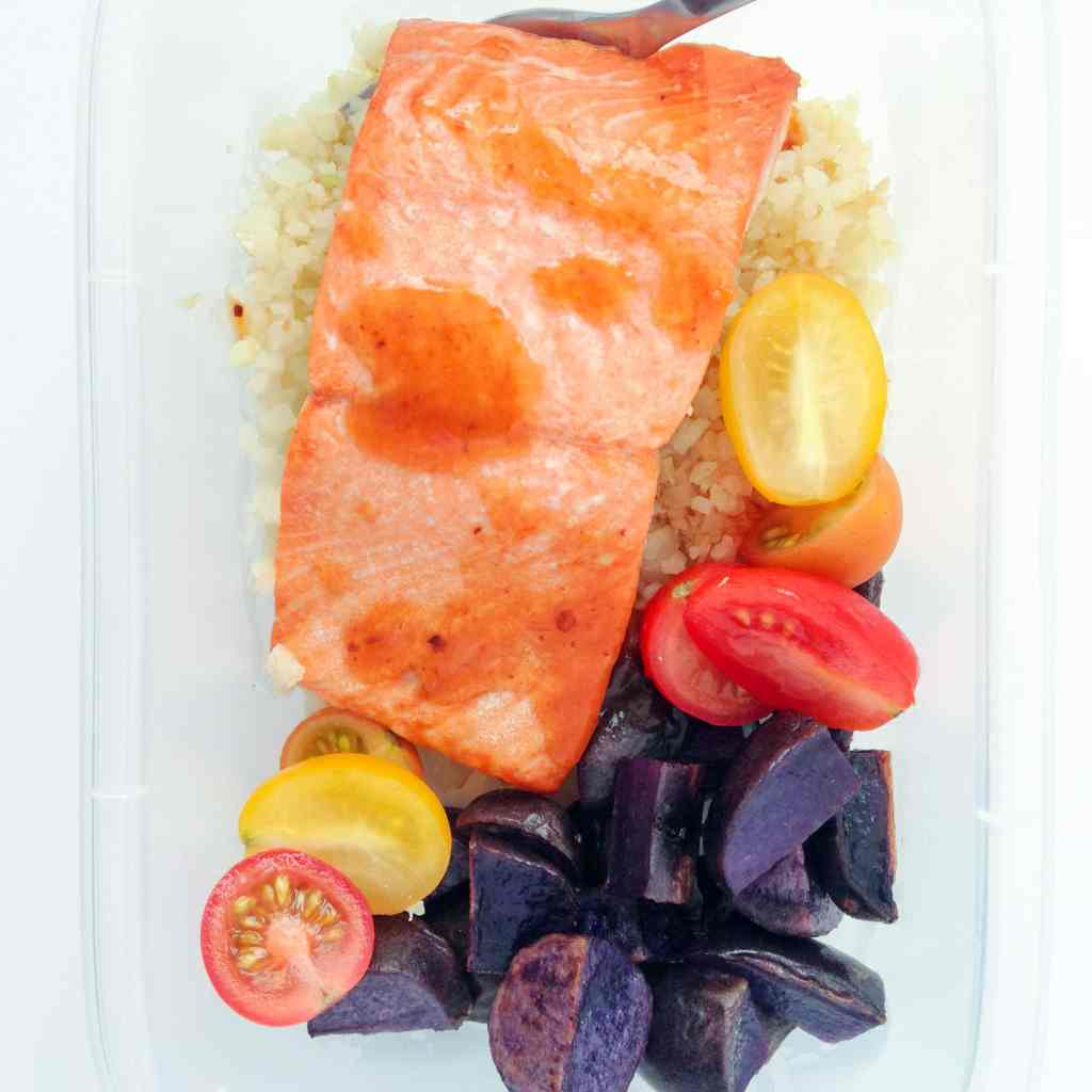 Ghost Pepper & Tamarind Salmon Meal Prep