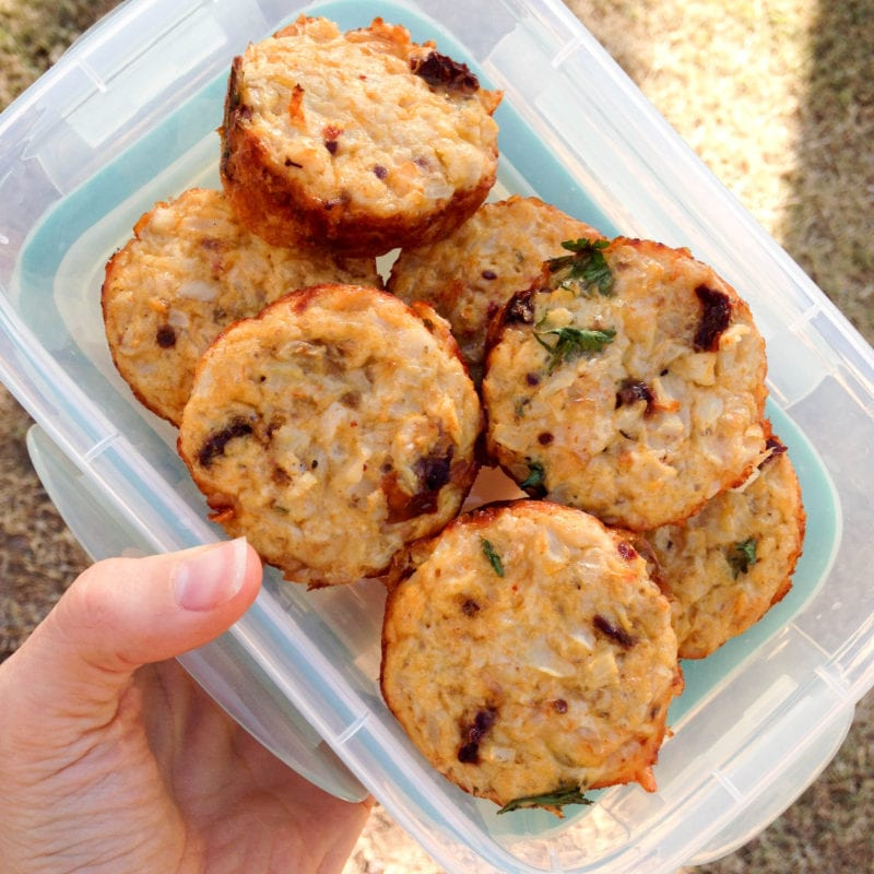 Low Carb Sun-dried Tomato Egg Cups