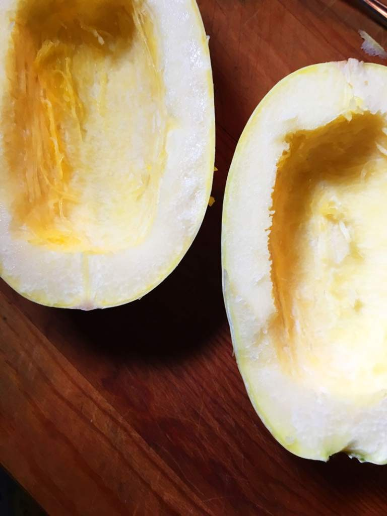 how to cook spaghetti squash step 4