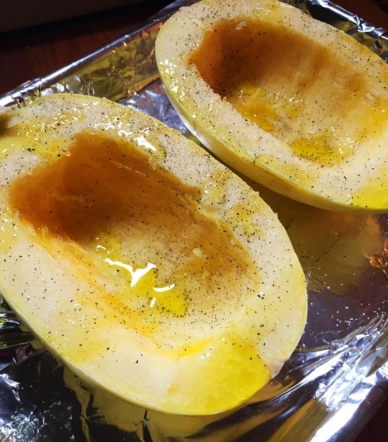 how to cook spaghetti squash step 5