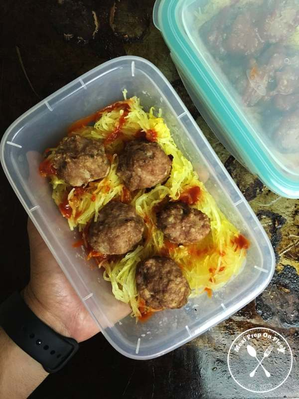 how to cook spaghetti squash and meal prep with it
